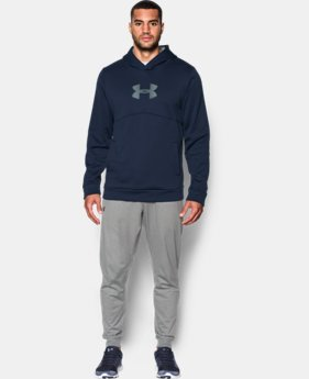 Men's UA Storm Armour® Fleece Logo Hoodie  6 Colors $32.99 to $41.99