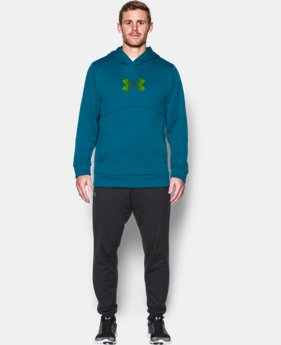 Men's UA Storm Armour® Fleece Logo Hoodie  2 Colors $48.74