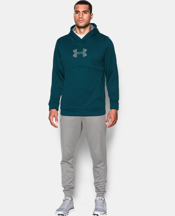 Men's UA Storm Armour® Fleece Logo Hoodie LIMITED TIME: FREE SHIPPING 2 Colors $48.74