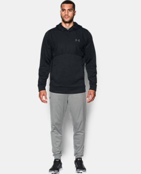 Men's UA Storm Armour® Fleece Woven Hoodie  2 Colors $56.24