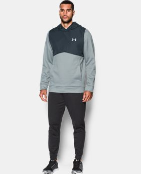 New Arrival Men's UA Storm Armour® Fleece Woven Hoodie  1 Color $74.99