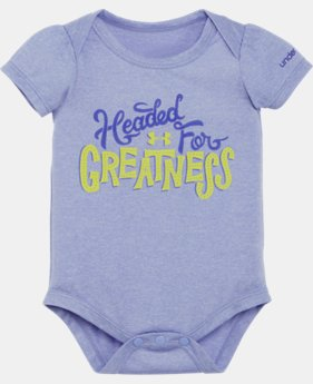 Girls' Newborn UA Headed For Greatness Bodysuit LIMITED TIME: FREE SHIPPING 1 Color $14.99