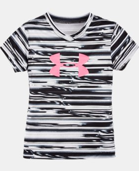Girls' Pre-School UA Linked Big Logo Short Sleeve  1 Color $24.99