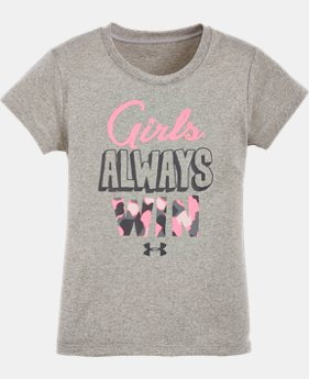 Girls' Pre-School UA Girls Always Win T-Shirt