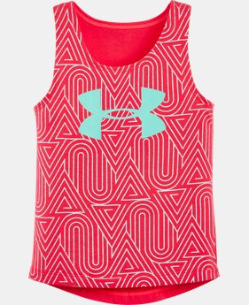 Girls' Pre-School UA Run Tank LIMITED TIME: FREE SHIPPING 1 Color $24.99