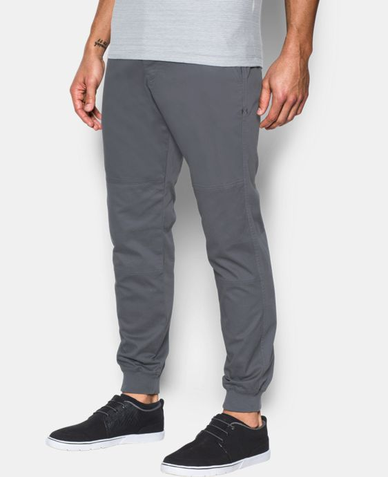 New Arrival Men's UA Performance Chino Jogger  2 Colors $89.99