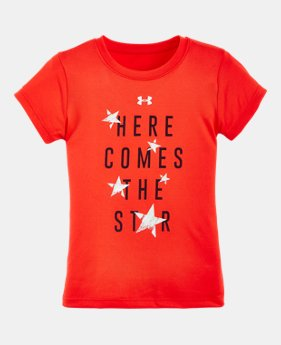 Girls 39 toddler clothing from under armour for Simply for sports brand t shirts