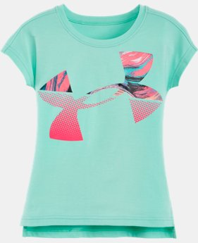Girls' Toddler UA Jumbo Tides Logo T-Shirt