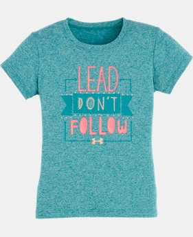 Girls' Toddler UA Lead Don't Follow T-Shirt