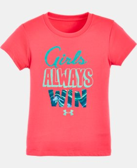 Girls' Toddler UA Girls Always Win T-Shirt