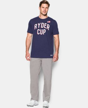 New Arrival Men's UA Ryder Cup T-Shirt LIMITED TIME: FREE SHIPPING 1 Color $34.99
