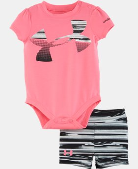 Girls' Newborn UA Graphic Bodysuit Skirt  LIMITED TIME: FREE SHIPPING 2 Colors $34.99
