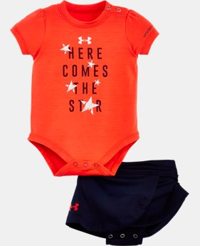 Girls' Newborn UA Graphic Bodysuit Skirt  LIMITED TIME: FREE SHIPPING  $34.99