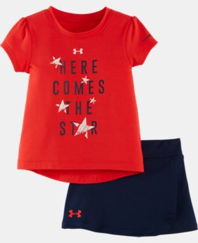 Girls' Infant UA Linked Jumbo Big Logo Set  2 Colors $34.99