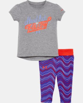 Girls' Newborn UA Set LIMITED TIME: FREE SHIPPING 2 Colors $34.99