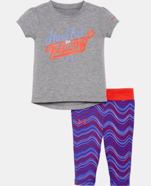 New to Outlet Girls' Newborn UA Set LIMITED TIME: UP TO 30% OFF 1 Color $26.99