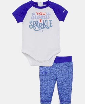 Girls' Newborn UA Set LIMITED TIME: FREE SHIPPING 1 Color $34.99