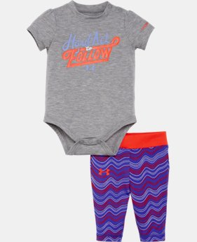 Girls' Infant UA Set LIMITED TIME: FREE SHIPPING 1 Color $34.99