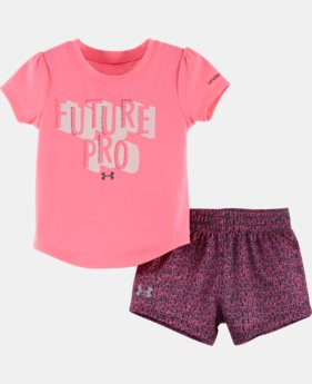 Girls' Infant UA Starburst Logo Set
