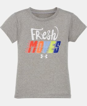 Girls' Pre-School UA I Will What I Want Short Sleeve T-Shirt  3 Colors $17.99