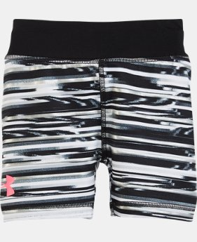 Girls' Pre-School UA Linked Shimmer Bike Shorts  LIMITED TIME: FREE SHIPPING  $21.99