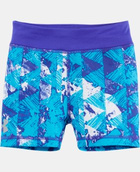 Girls' Pre-School UA Knockout Bike Shorts LIMITED TIME: FREE SHIPPING  $22.99