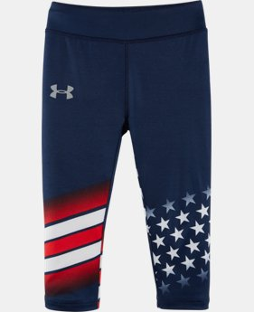 Girls' Pre-School UA USA Capris    $27.99