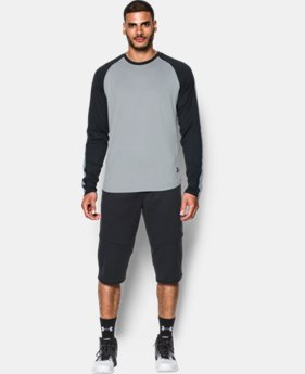New Arrival  Men's UA Pursuit Long Sleeve T-Shirt LIMITED TIME: FREE SHIPPING 1 Color $59.99