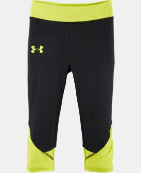 Girls' Pre-School UA Game Changer Capris LIMITED TIME: FREE U.S. SHIPPING  $19.99