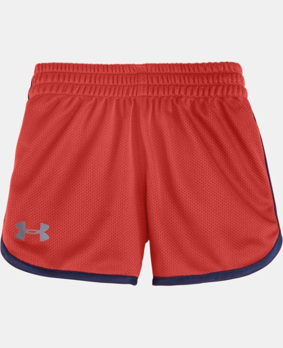 Girls' Pre-School UA Essential Shorts LIMITED TIME: FREE U.S. SHIPPING 1 Color $13.99