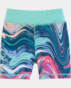 Girls' Pre-School UA Tides Multi Bike Shorts LIMITED TIME: FREE SHIPPING  $22.99