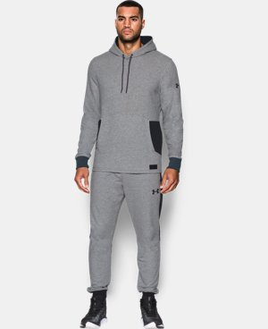 New Arrival Men's UA Pursuit Fleece Hoodie  1 Color $69.99