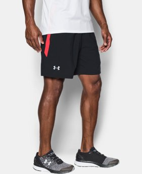 New to Outlet Men's UA Launch SW 7'' Shorts  5 Colors $18.74