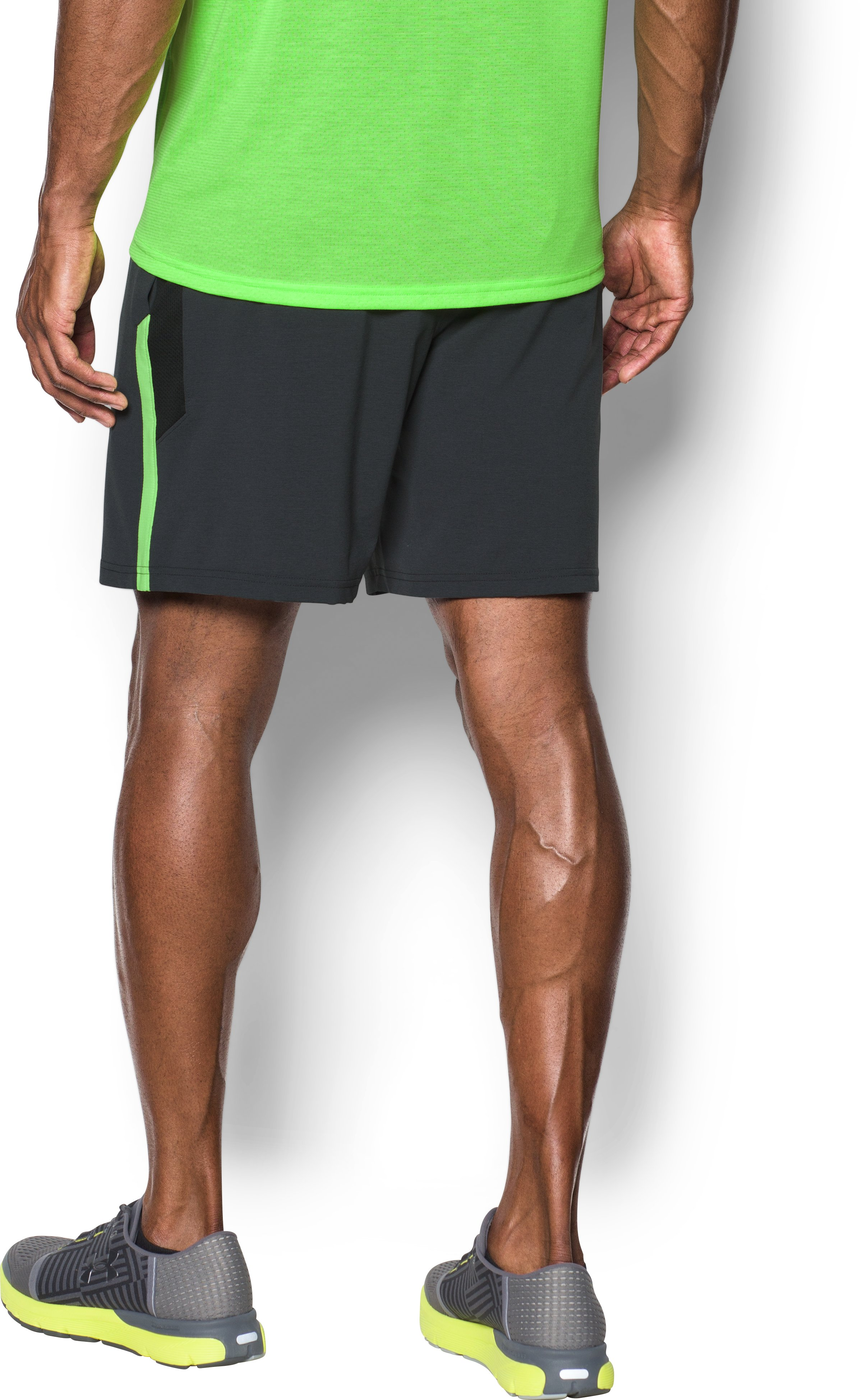 Men's UA Launch SW 7'' Shorts, Black , undefined