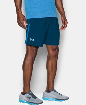New to Outlet Men's UA Launch SW 7'' Shorts  1 Color $18.74