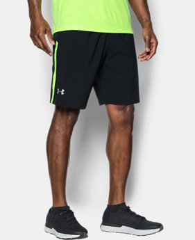 Men's UA Launch SW 9'' Shorts  1 Color $26.24