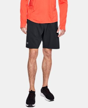 Men's UA Launch SW 9'' Shorts  1  Color Available $26.24