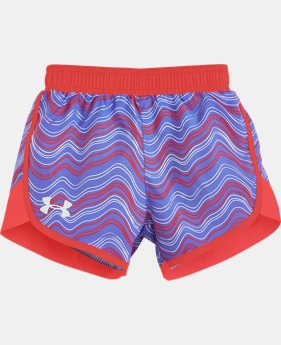 Girls' Pre-School UA Fast Lane Shorts LIMITED TIME: FREE SHIPPING  $21.99