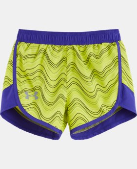 Girls' Pre-School UA Fast Lane Shorts  1 Color $16.99