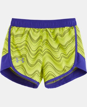 Girls' Pre-School UA Fast Lane Shorts LIMITED TIME: FREE U.S. SHIPPING  $16.99