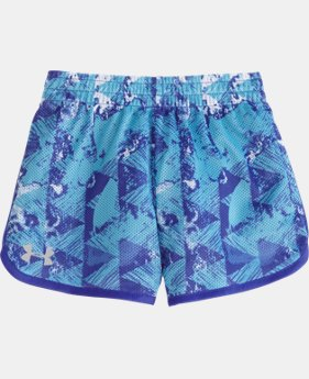 Girls' Pre-School UA Knockout Essential Shorts LIMITED TIME: FREE SHIPPING 1 Color $19.99