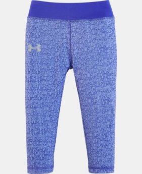 Girls' Pre-School UA Wordmark Capris  1 Color $20.99