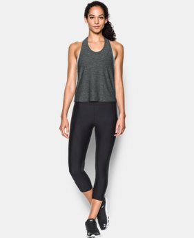 Women's UA Swing Crop Tank LIMITED TIME: FREE SHIPPING 1 Color $44.99