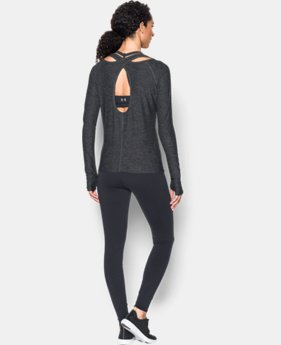 Best Seller Women's UA Swing Keyhole Long Sleeve LIMITED TIME: FREE SHIPPING 2 Colors $49.99