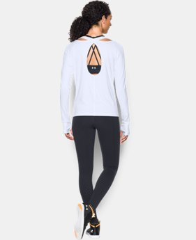 Women's UA Swing Keyhole Long Sleeve LIMITED TIME: FREE SHIPPING 2 Colors $49.99