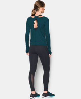 Best Seller Women's UA Swing Keyhole Long Sleeve  1 Color $49.99