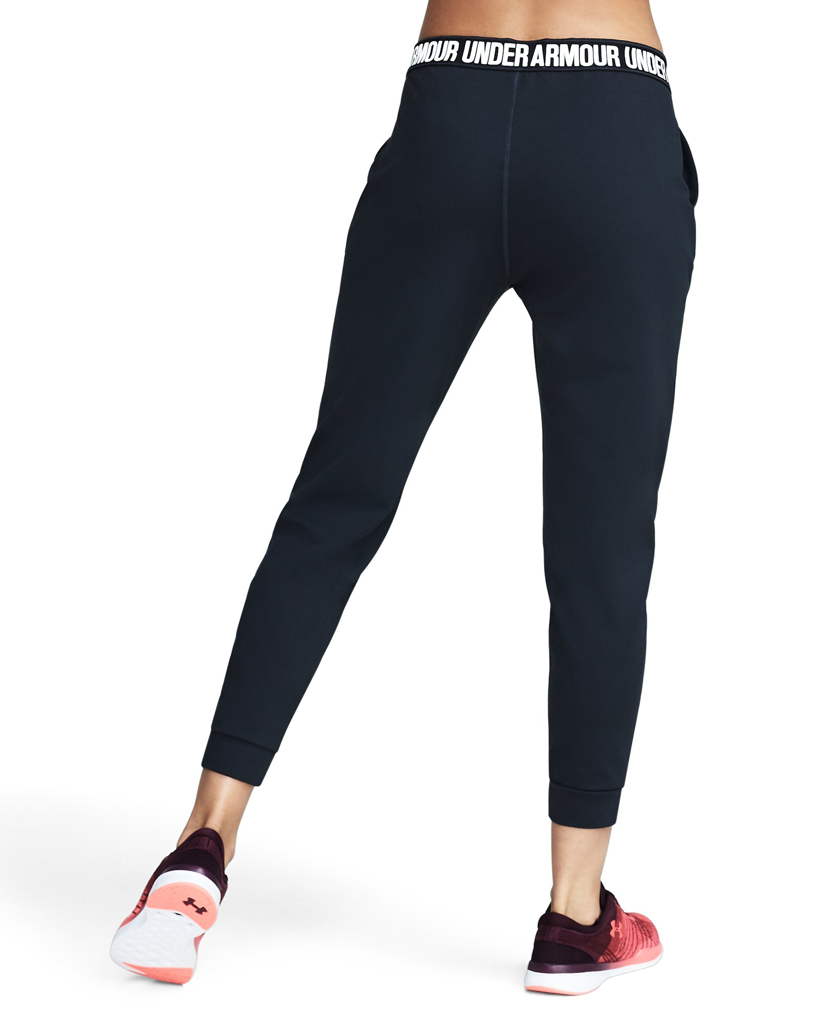 Women's UA City Hopper Joggers, ANTHRACITE, undefined