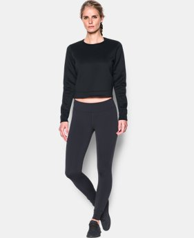 Women's UA Luster Long Sleeve Crop  1 Color $89.99