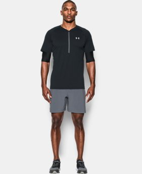 Men's UA Transport 2-in-1 Short Sleeve ½ Zip  1 Color $44.99