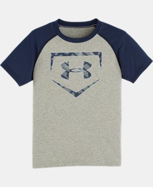 Boys' Pre-School UA Home Base T-Shirt   $17.99